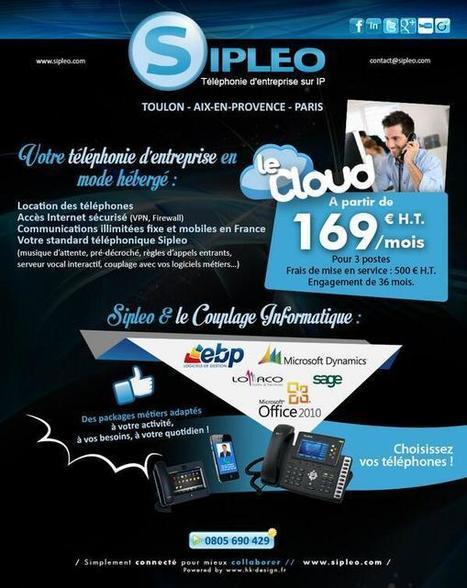 Twitter / Sipleo: Profitez de votre téléphonie ... | TOIP & Security Survey By TelNowEdge | Scoop.it