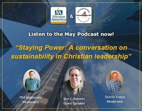 PODCAST: Staying Power ~ A conversation on sustainability in Christian leadership | CityReaching | Scoop.it