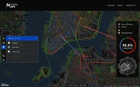 An Emotional Map Of The City, As Captured Through Its Sounds | Hitchhiker | Scoop.it