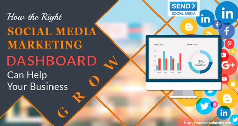 How the Right Social Media Marketing Dashboard Can Help Your Business Grow   Social Media How To   Scoop.it