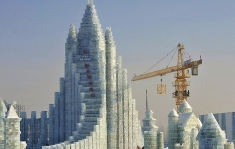 China Photo of the Day: A Giant Bank Made Entirely From Ice | AP HUMAN GEOGRAPHY DIGITAL  TEXTBOOK: MIKE BUSARELLO | Scoop.it