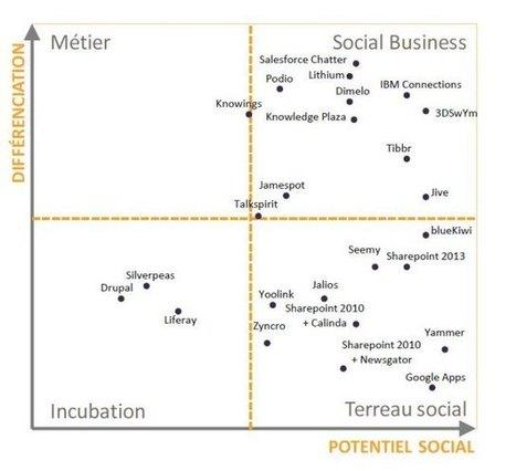 Réseaux sociaux d'entreprise : s'y retrouver dans la jungle des solutions | Gestion de l'information | Scoop.it