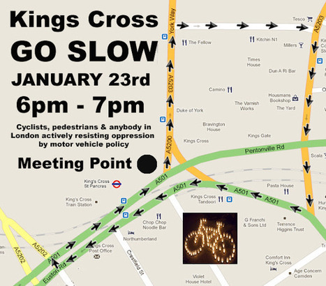 Living Streets: King's Cross (Camden): King's Cross Go Slow | Slow Cities | Scoop.it