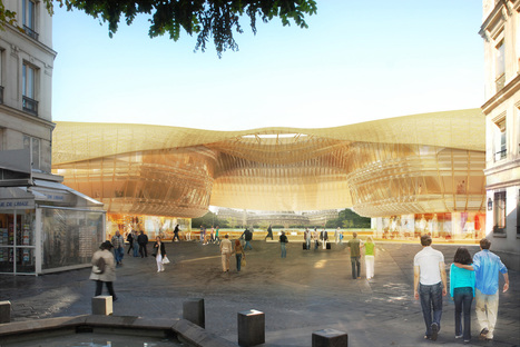 Une canopée en verre pour le Forum des Halles - UrbaNews.fr | Architecture pour tous | Scoop.it