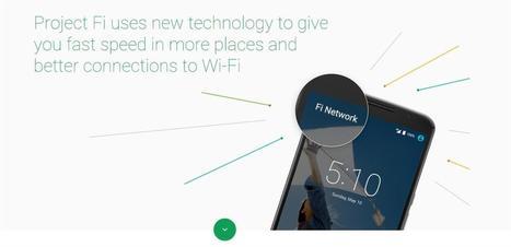 Projet Fi : tout ce qu'il faut savoir du forfait de téléphonie mobile de Google | INFORMATIQUE 2015 | Scoop.it