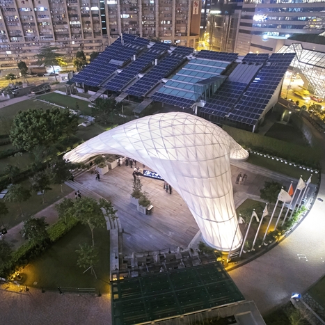 Students erect arching bamboo events pavilion in Hong Kong | a3 _ research | Scoop.it