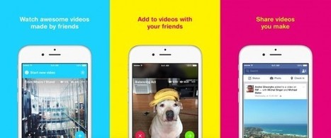 Facebook's new Riff app lets you make videos with friends | iPads in Education Daily | Scoop.it