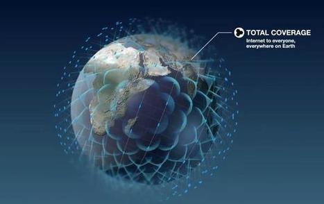 Objectif OneWeb : rendre Internet accessible à la Terre entière - 10 ... - la Nouvelle République | Seniors | Scoop.it