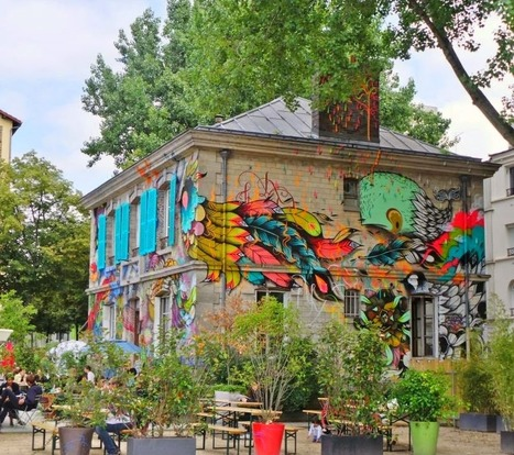 La Parisienne du Nord: Balade Street Art dans le 19e arrondissement | World of Street & Outdoor Arts | Scoop.it