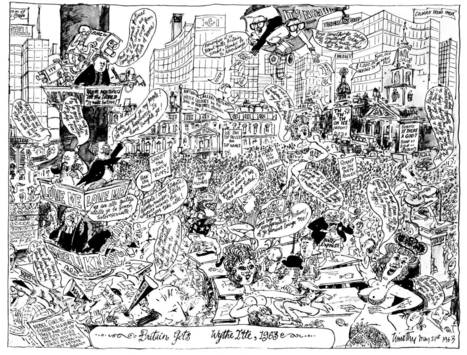 National lampoon: 50 years of Private Eye's ingenious political cartooning | Satire | Scoop.it