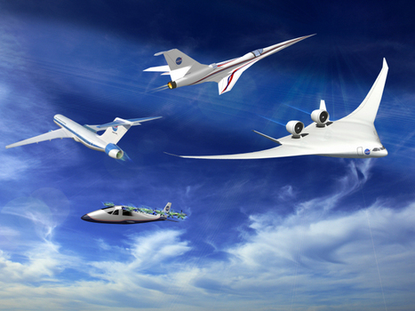 NASA launches new X-plane program to create cleaner, more efficient planes | Vous avez dit Innovation ? | Scoop.it