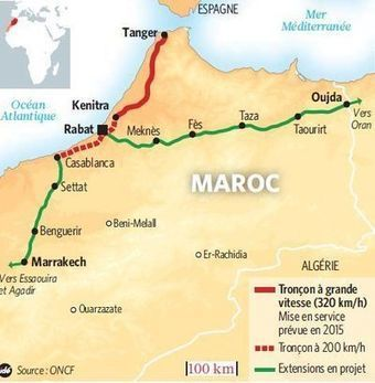 Maroc : pour ou contre le TGV? - L'Express | Dans l'actu | Doc' ESTP | Scoop.it
