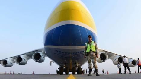 Accord ukraino-chinois pour relancer l'Antonov 225, le plus gros avion cargo au monde   Aviation & Airliners   Scoop.it