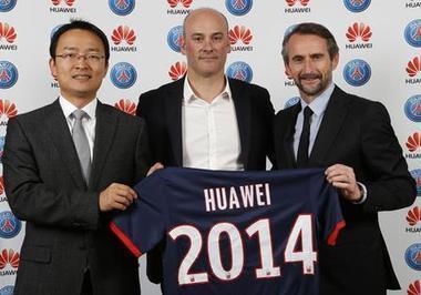 Huawei partenaire officiel du Paris Saint-Germain | Sport Digital | Scoop.it