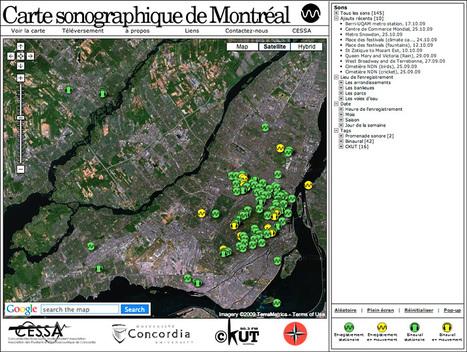 La Semaine du SON   La trame sonore de Montréal   URBANmedias   Scoop.it