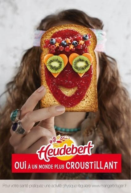 Nouvelle pub pour la biscotte d'Heudebert   Publicité - Advertising   Scoop.it