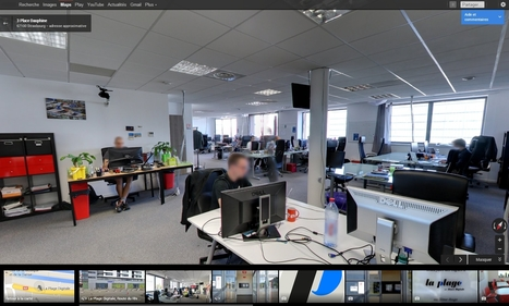 Google Maps   La Plage Digitale, the place to be - Coworking   Scoop.it