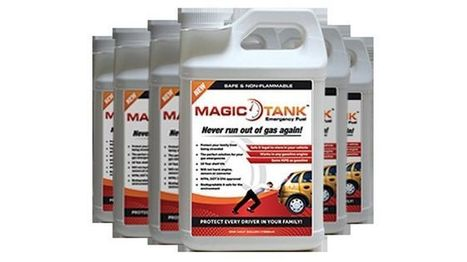 Magic Tank emergency fuel promises safe alternative to running out of gas | electronic management and recycling firm | Scoop.it