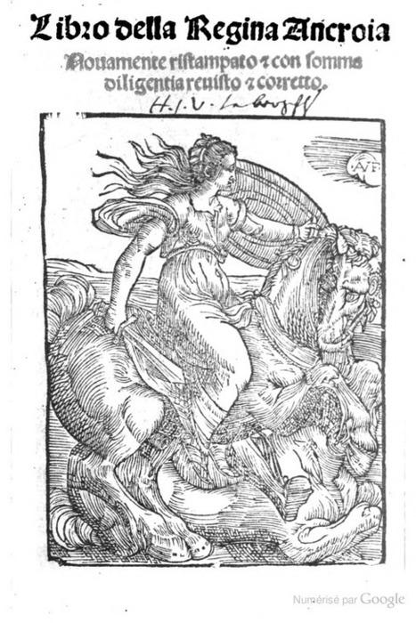 Libro della regina Ancroia | Les Héros Oubliés - Ressources documentaires | Scoop.it