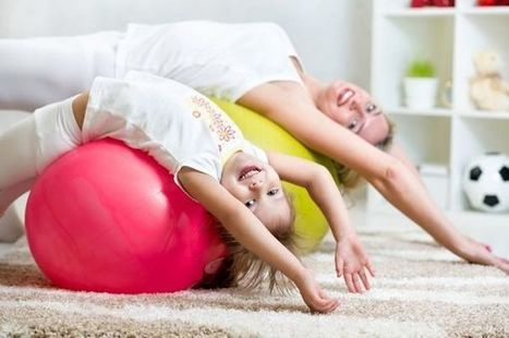 Easy At-Home Exercises to do with your Kids | ModernLifeBlogs | Scoop.it