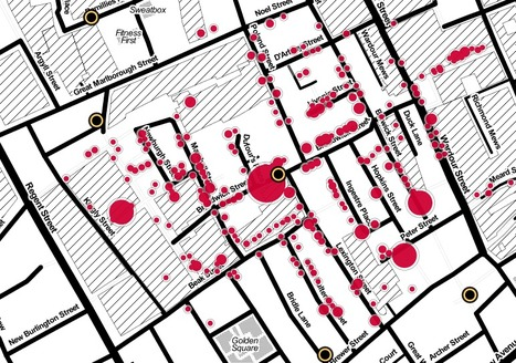 John Snow's cholera map of London recreated   GTAV AC:G Y10 - Geographies of human wellbeing   Scoop.it