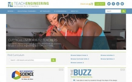 TeachEngineering Reviews | edshelf | New learning | Scoop.it