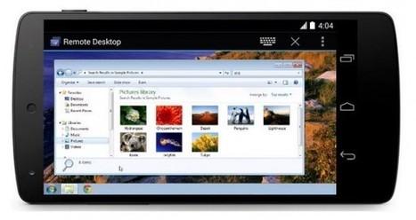 Google lanza su aplicación de gestión remota para móviles | Soy un Androide | Scoop.it