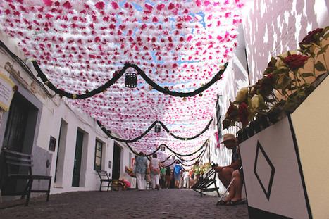Portuguese Community Bands Together to Create a Stunning Paper Flower World | Le It e Amo ✪ | Scoop.it