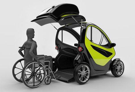 Un concept de voiture électrique pour les personnes à mobilité réduite | Mobilité Durable | Scoop.it