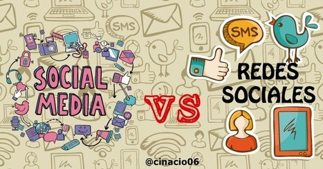 Social Media vs Redes Sociales - Definiciones y diferencias | El rincón de mferna | Scoop.it