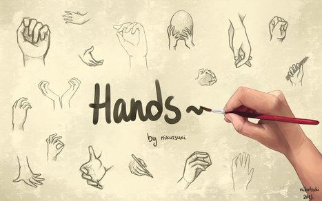 Hand Study   Dessin   Scoop.it