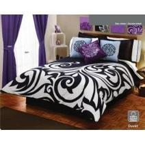 Black and White Bedding Comforter Sets | Crafting and Crafts | Scoop.it