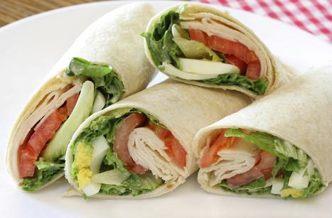 Wraps de queso y vegetales | Panadería - Pastelería - Cocina | Scoop.it