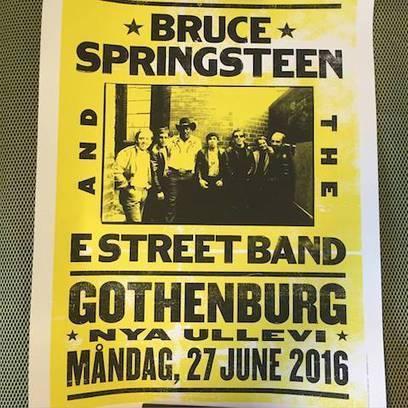La setlist du 2e concert de Bruce Springsteen à Göteborg - le Blog Bruce Springsteen | Bruce Springsteen | Scoop.it