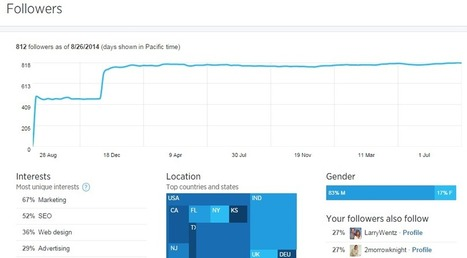 Check Out The New Twitter Analytics Dashboard - Seo Sandwitch Blog | SEO,SMO,Social Media,Internet Marketing and Google Updates | Scoop.it
