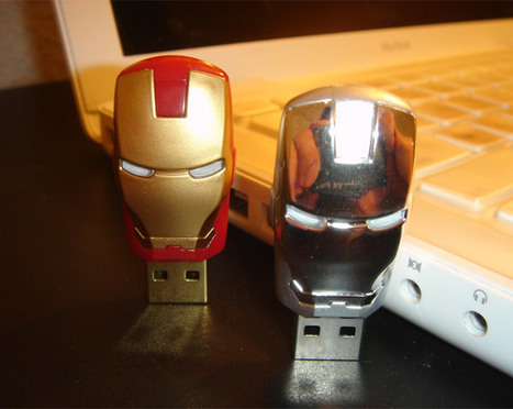 Japan's Iron Man 2 Flash Drives Way Better Than America's | All Geeks | Scoop.it