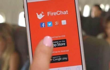 Firechat, herramienta para enviar mensajes de texto sin conexión a web | Open Garden Press Coverage | Scoop.it