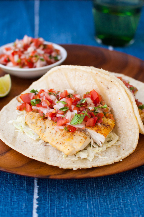 Easy Fish Tacos - Taming of the Spoon | Say No to Dieting | Scoop.it