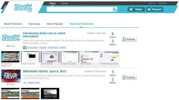 T-zine : 'Zeeik' eens wat video's bij elkaar! | Edu-Curator | Scoop.it