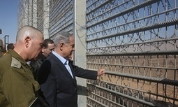 Netanyahu plans fence around Israel to protect it from 'wild beasts'   Upsetment   Scoop.it