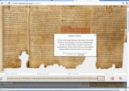A nice new tool to understand the Dead Sea Scrolls « Israel Tour ... | Education Tech & Tools | Scoop.it