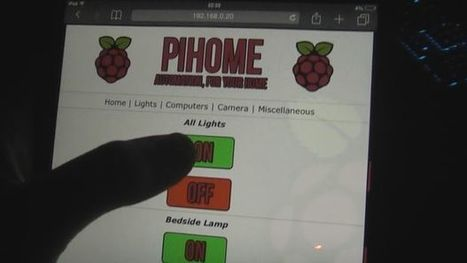 Raspberry Pi Home Automation - Control lights, computers, CCTV and more! | Open Source Hardware News | Scoop.it