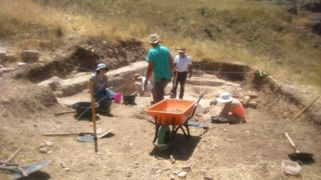 Las excavaciones en las termas de Valeria sacan a la luz mosaicos y una gran piscina - La Tribuna de Cuenca | Centro de Estudios Artísticos Elba | Scoop.it