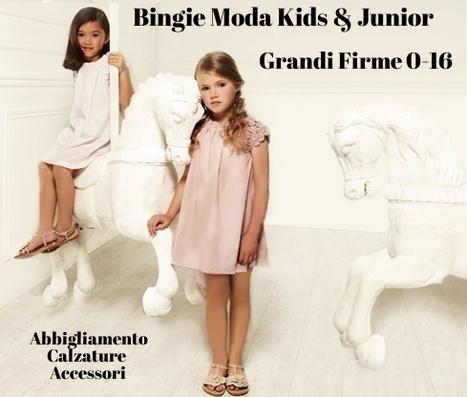 Bingie Grandi Firme Moda Kids & Junior - I migliori capi firmati per bambini e ragazzi | Abbigliamento Firmato Bambini | Scoop.it