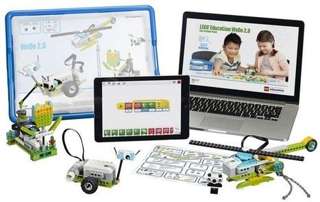 Apprendre à programmer avec les LEGO de WeDo 2.0. Projets robotique à l'école | Outils et ressources pour la création numérique | Scoop.it