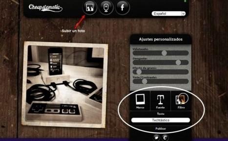 Aplica efectos a tus imagenes con Cheapstamatic | editacion | Scoop.it