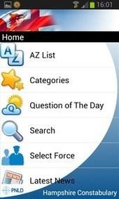 Handige FAQ-app gelanceerd in Engeland. Gekoppeld aan hun vraaghetdepolitie-website | Apps in Law Enforcement | Scoop.it