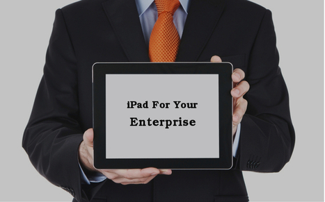 iPad: A Productivity Tool For Your Enterprise | Application Development | Scoop.it