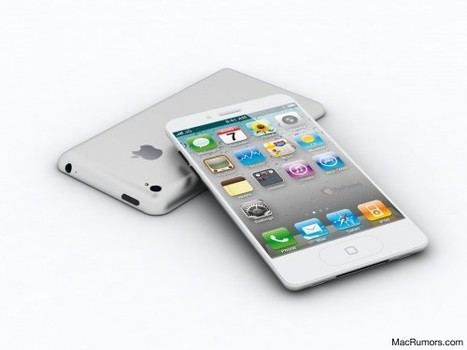 "This is what the iPhone 5 will most probably look like | ""#Google+, +1, Facebook, Twitter, Scoop, Foursquare, Empire Avenue, Klout and more"" 
