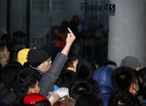 Chine: La vente d'iPhone suspendue après une émeute | Apple World | Scoop.it